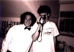 Anton and Dan with camera