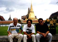 In Bangkok with Stu and Chris
